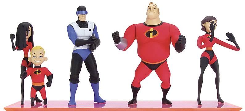 Incredibles 5-inch Figure Ast. 1 Set