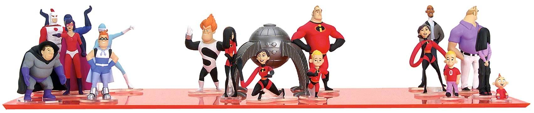 Incredibles 3-inch Cinema Scene Ast. 1
