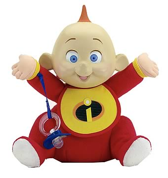 Incredibles Jabberin` Jack Jack Plush