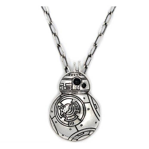 Star Wars VII BB-8 Stainless Steel Pendant Necklace