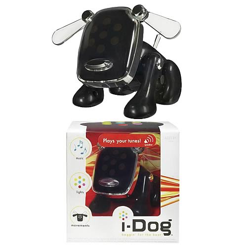i-Dog Black Musical Robot Dog