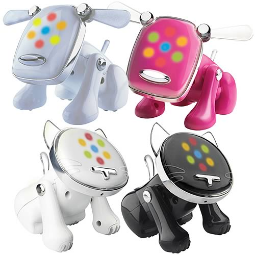 i-Dog & i-Cat Musical Robot Pets Wave 1