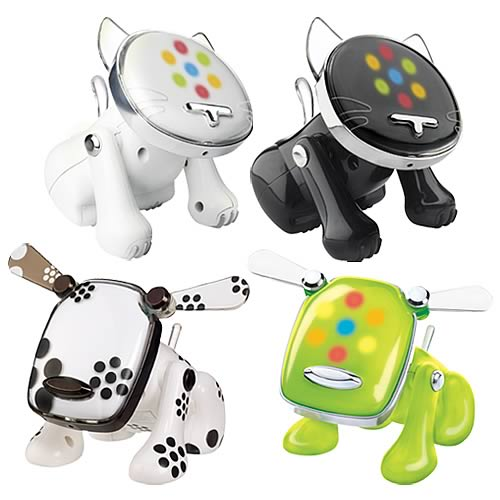 i-Dog & i-Cat Musical Robot Pets Wave 2 Revision 2