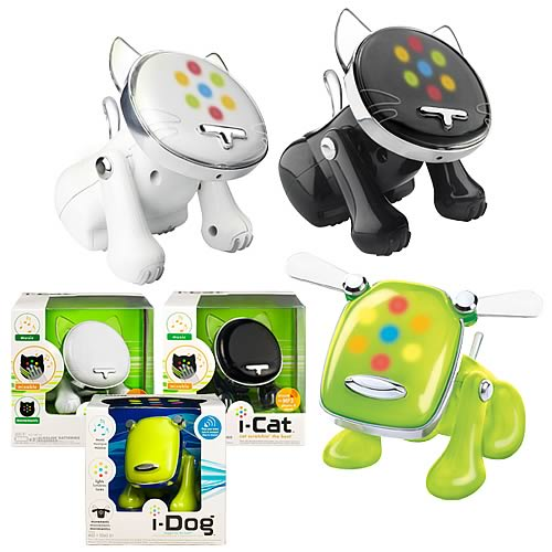 i-Dog & i-Cat Musical Robot Pets Wave 2