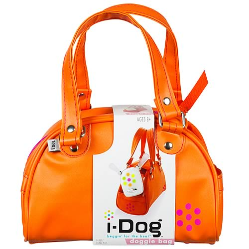 i-Dog Musical Robot Dog Orange Bag