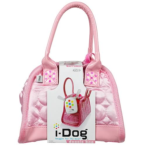 i-Dog Musical Robot Dog Pink Bag
