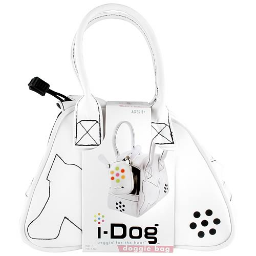 i-Dog Musical Robot Dog White Bag