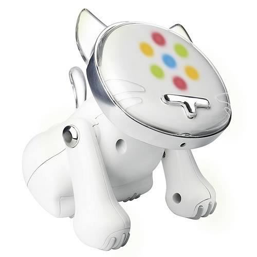 i-Cat White Musical Robot Cat