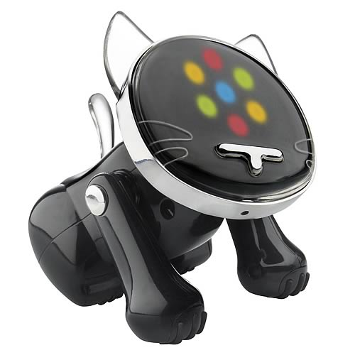 i-Cat Black Musical Robot Cat