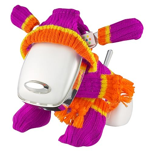 i-Dog Purple and Orange Chill Set