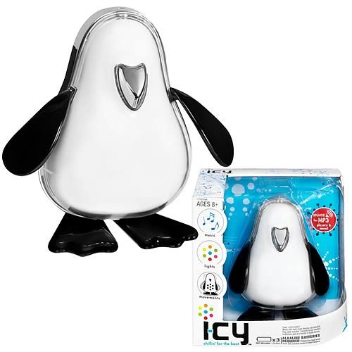 i-CY White Electronic Musical Robot Penguin