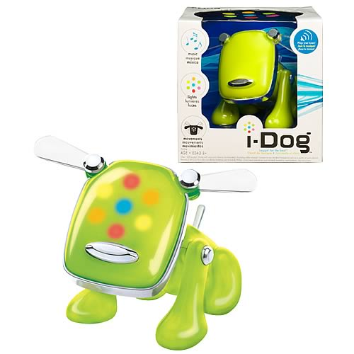 i-Dog Green Musical Robot Dog