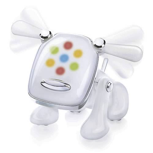 i-Dog White Musical Robot Dog