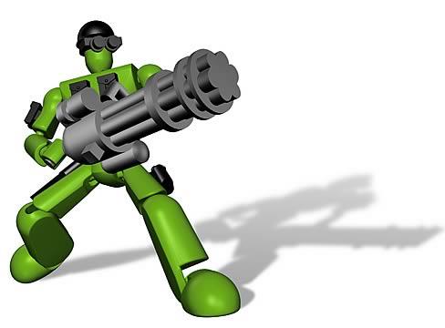 Stikfas Classic Omega Male Military