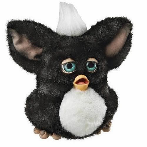 Furby Black and White 2005 Furby