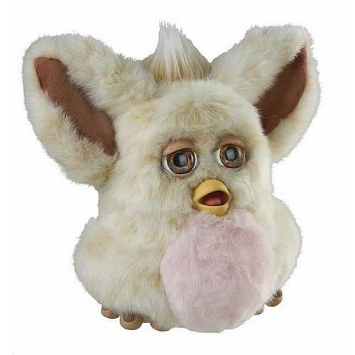 Furby Cream Beige with Pink Belly