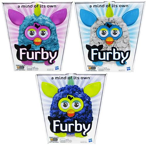 Furby Cool Assortment Plush Wave 3