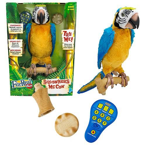 FurReal Friends Squawkers McCaw Animatronic Parrot