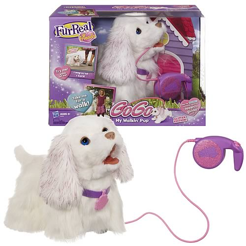 Furreal Friends Glitter Edition Gogo My Walking Pup Toy