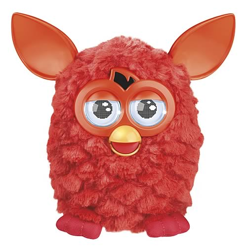 Furby Electronic Phoenix Orange-Red Furby Plush