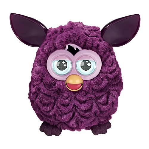 Furby Electronic Plum Dark Purple Furby Plush