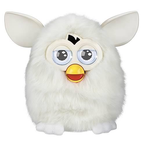 Furby Electronic Yeti White Furby Plush