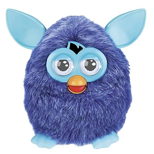 Furby Electronic Twilight Navy Blue Furby Plush