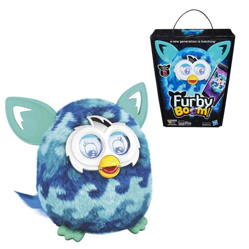 Furby Boom! Blue Waves Electronic Plush Toy
