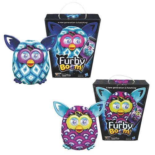 Furby Boom! Sunny Assortment Wave 3 Set