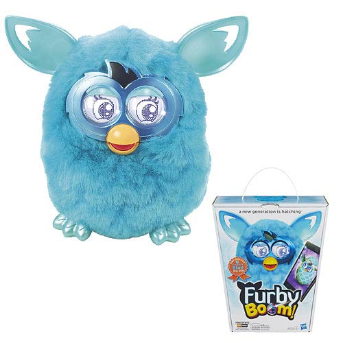 Furby Boom! Teal Special Edition Electronic Plush Toy
