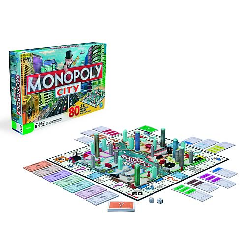 Monopoly City Game - Hasbro Games - Monopoly - Games at Entertainment Earth