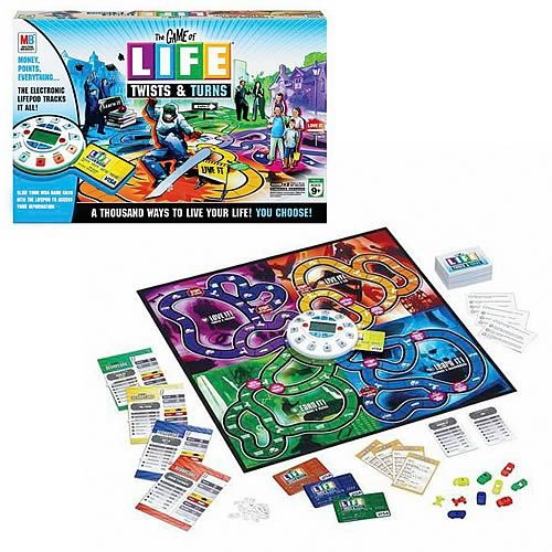 Game of Life Twists & Turns Edition