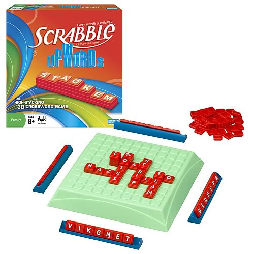 Scrabble Upwords Game