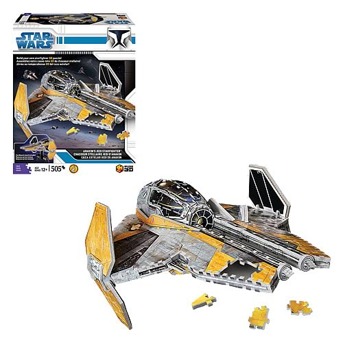 Star Wars Jedi Starfighter Puzz 3D Puzzle