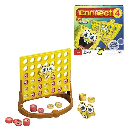 Connect 4 SpongeBob SquarePants Edition Game