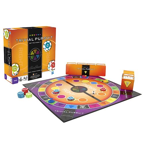 Trivial Pursuit Bet You Know It Edition Game