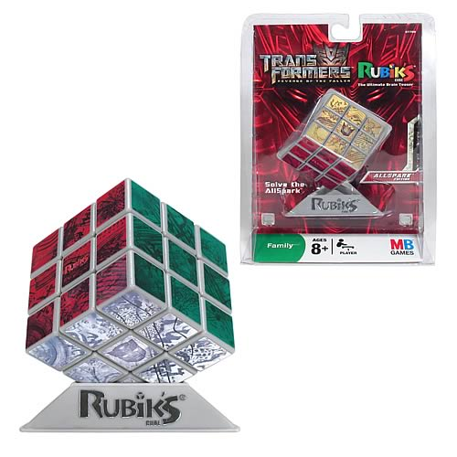 Transformers AllSpark Rubiks Cube Game