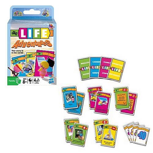Game Of Life Adventures Card Game