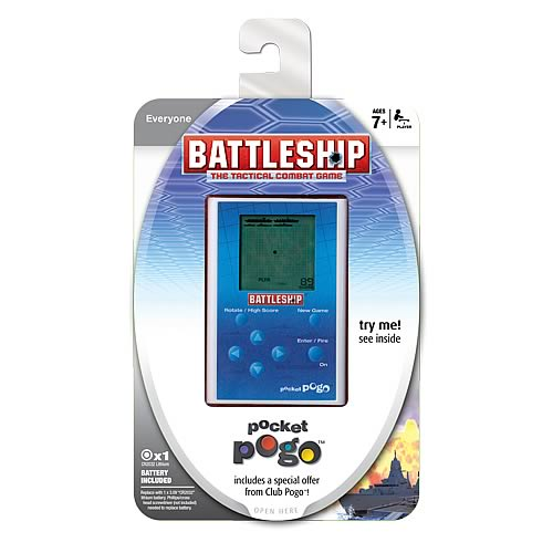Battleship Pocket Pogo Game