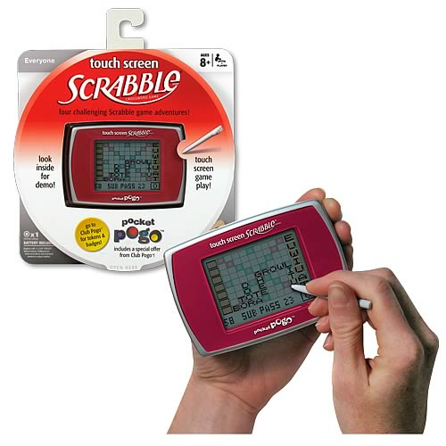 Scrabble Touch Screen Pocket Pogo Game