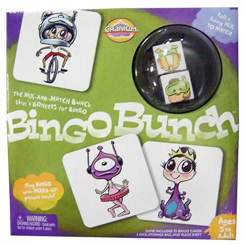 Cranium Bingo Bunch Game