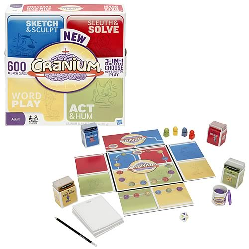 Cranium Game Revised Edition