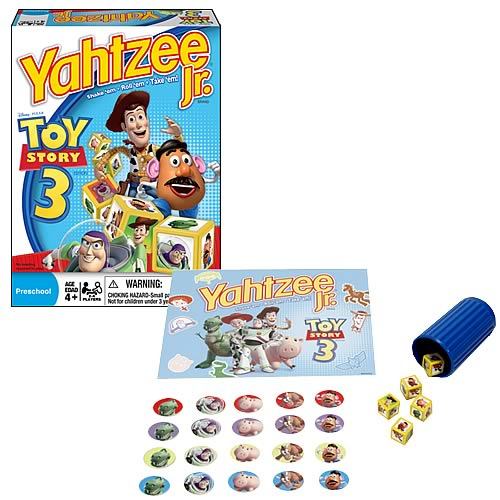 Yahtzee Jr. Toy Story 3 Game