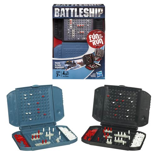 Battleship Fun On the Run Travel Game