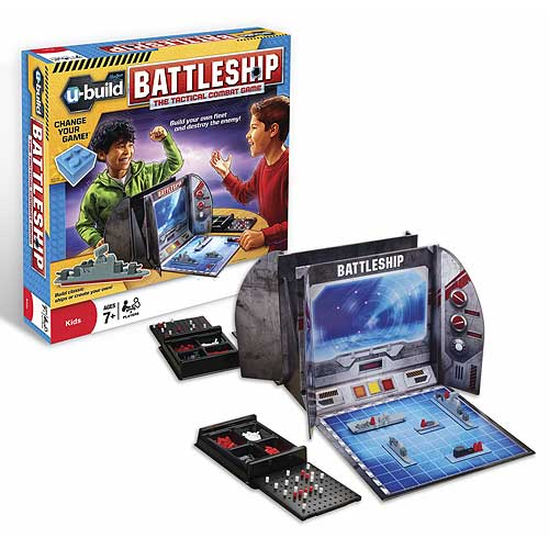 Battleship U-Build Game