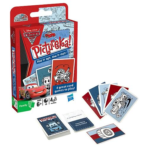 Pictureka Cars 2 Card Game