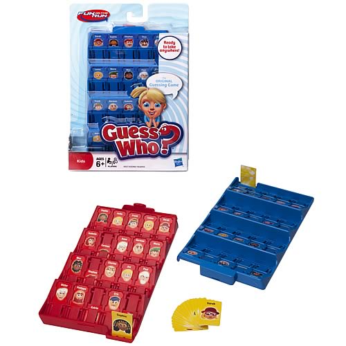Travel Guess Who Fun On The Run Game
