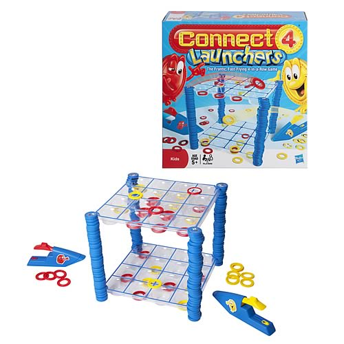 Connect 4 Launchers Game