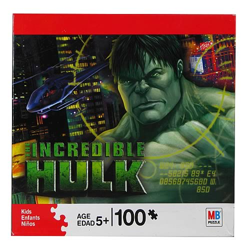 Incredible Hulk 100 Piece Puzzle #1