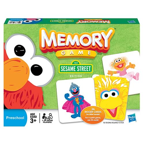 Sesame Street Edition Memory Game